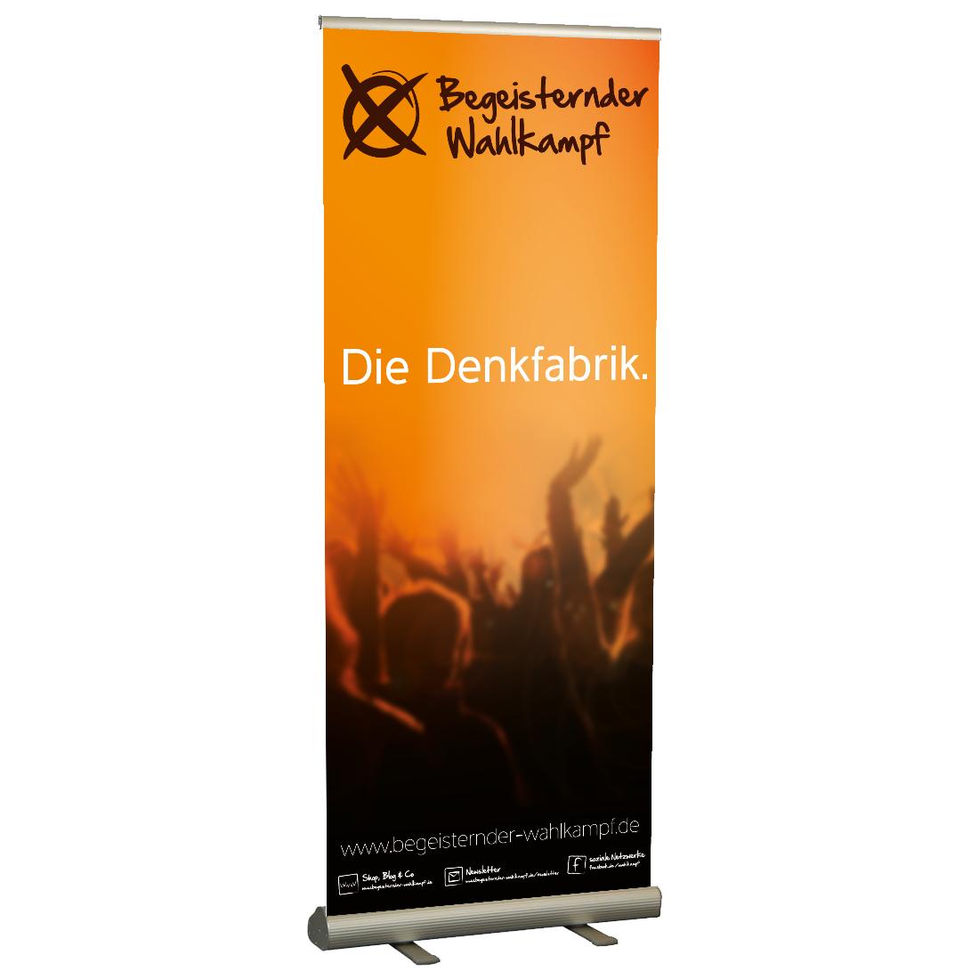 Rollup-Display - Begeisternder-Wahlkampf.de