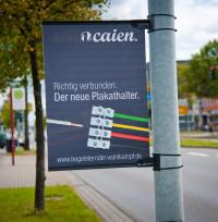 Leichtwabenplakat für Plakathalter - Begeisternder-Wahlkampf.de