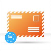Layoutservice Briefumschlag