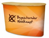 Die Promotiontheke mit viel Werbefläche - Begeistender-Wahlkampf.de