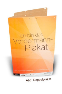 Vordermann-Plakate B1