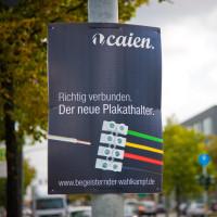 Wabenplakate - Begeisternder Wahlkampf